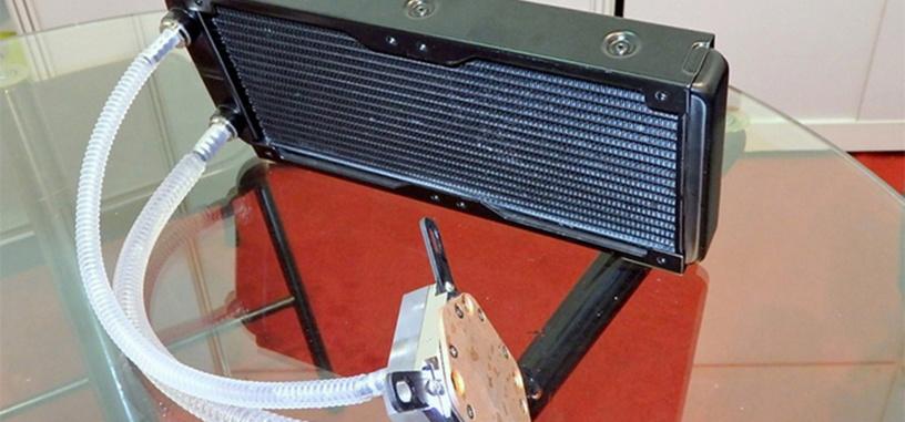 Raijintek muestra su prototipo de sistema de refrigeración líquida sin bomba o ventiladores
