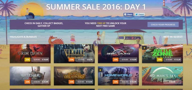 Combate el calor con la rebajas veraniegas de GOG y sus juegos gratuitos