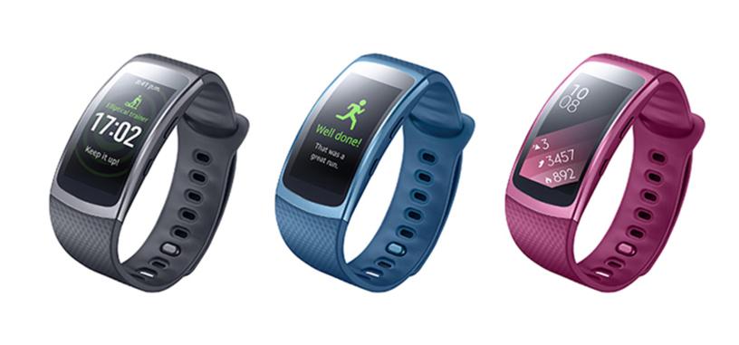 Samsung pone a la venta la pulsera de actividad Gear Fit2