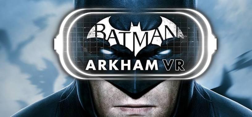 Rocksteady presenta el juego de realidad virtual de Batman para PlayStation VR