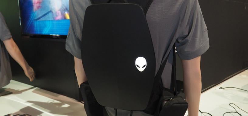 Alienware también tiene su mochila-PC para usar con gafas de realidad virtual