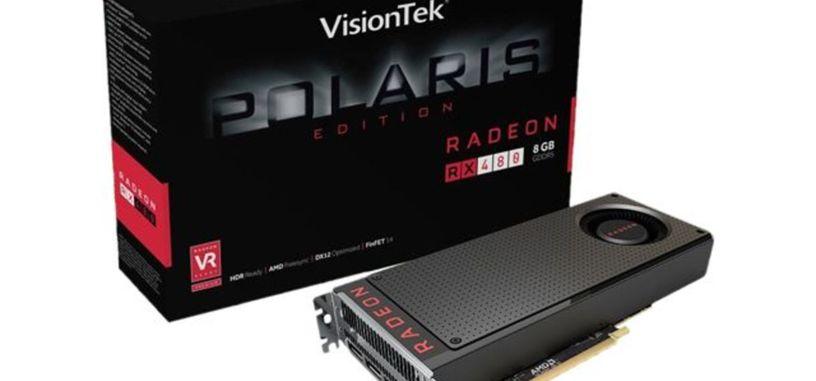 Captura de GPU-Z de la RX 480 y prueba en 'The Witcher 3'