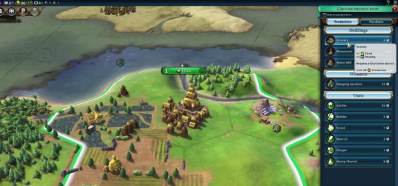 Un repaso a 'Civilization VI' y sus nuevas características en un vídeo de 12 minutos
