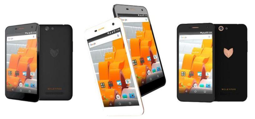 Wileyfox presenta sus teléfonos Spark con Cyanogen OS 13