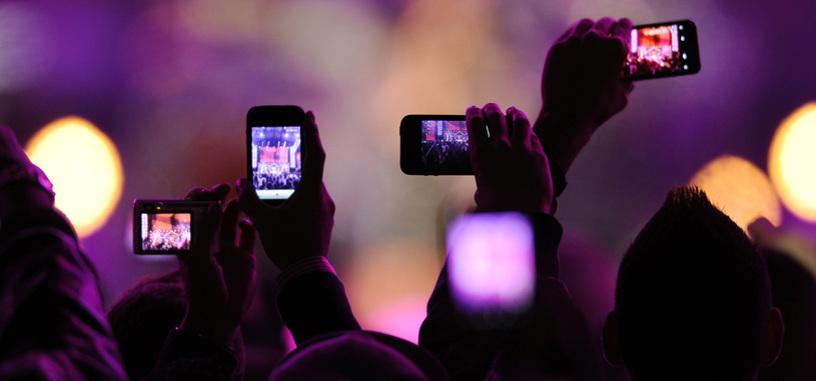 Apple registra una patente para desactivar la cámara del teléfono en eventos y conciertos