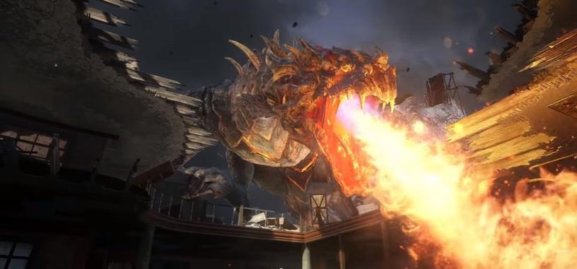 La cosa se calienta en el siguiente DLC de 'CoD: Black Ops 3' por culpa de los dragones