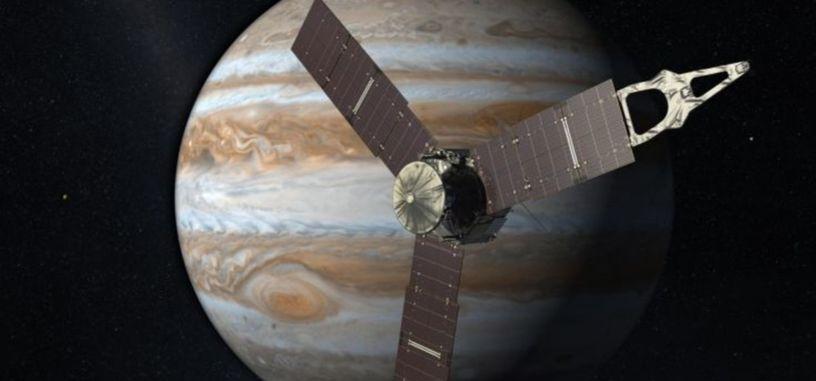 Después de 5 años de viaje, la sonda espacial Juno ha llegado a Júpiter