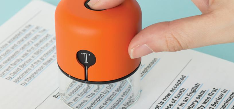 Escanea y envía tipografías y colores de cualquier libro al PC con Spector