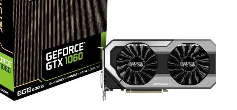 Palit anuncia tres modelos de GeForce GTX 1060
