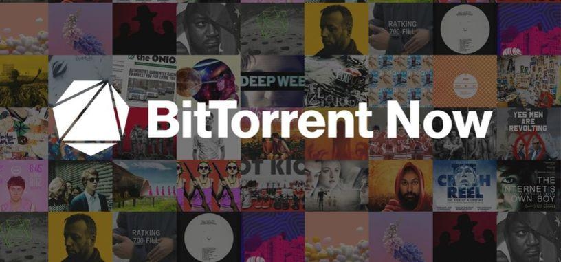 La plataforma de vídeo y música BitTorrent Now ya está disponible en iOS y Apple TV