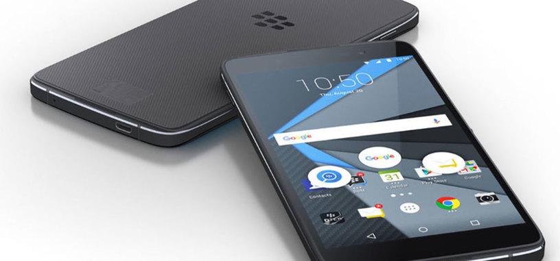 BlackBerry presenta el DTEK50, su segundo teléfono Android