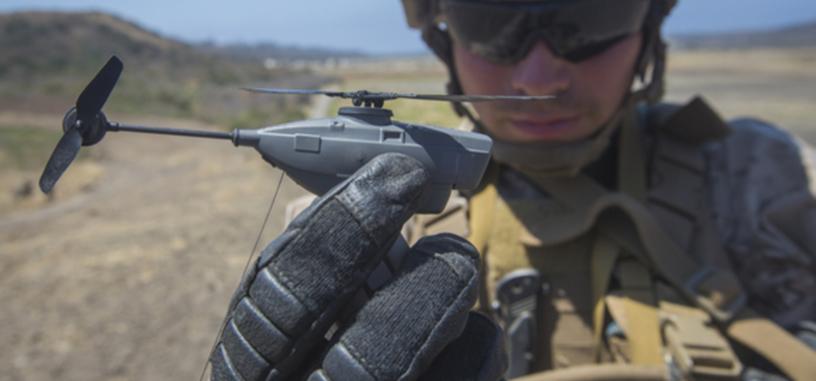 Estados Unidos está probando un dron para misiones de reconocimiento que cabe en un bolsillo