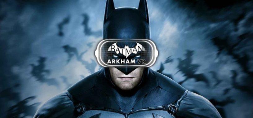 El nuevo tráiler de 'Batman: Arkham VR' se centra en las impresiones de los usuarios