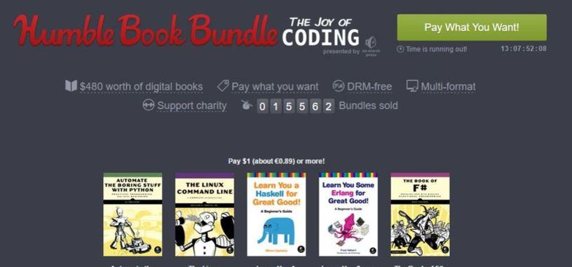El nuevo Humble Book Bundle impulsará tus conocimientos sobre programación