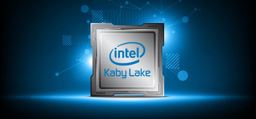 Los procesadores Kaby Lake añadirían una mejora marginal de rendimiento