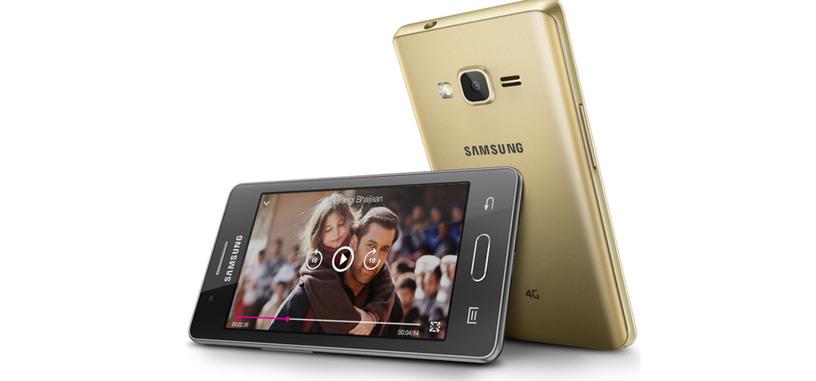 Samsung presenta el Z2, un nuevo teléfono con Tizen