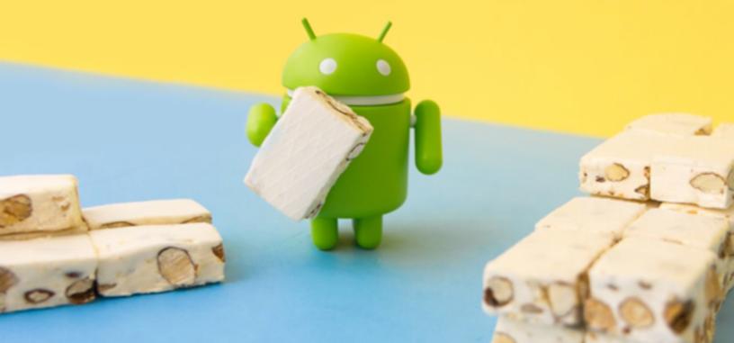 Android 7 Nougat se sitúa como la versión más usada de Android, y Android 8 alcanza un 1 % de uso