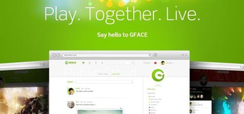 GFACE, la nueva red social para gamers