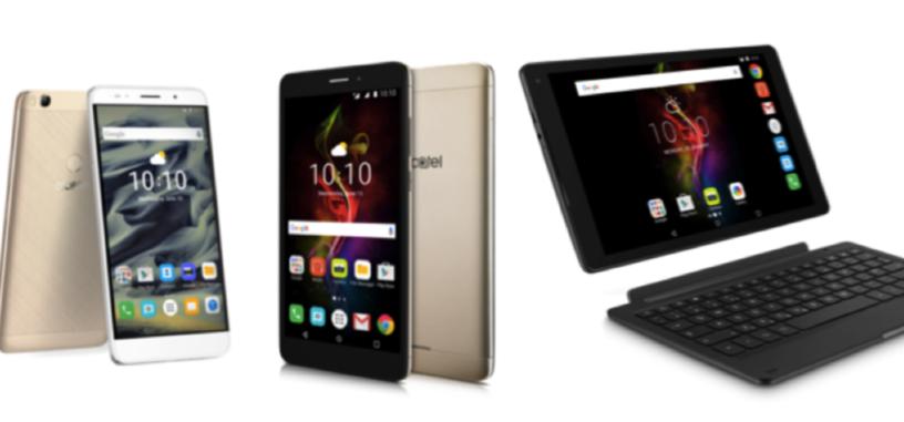 Alcatel pondrá a la venta en octubre dos tabletas POP 4 y un nuevo teléfono XL
