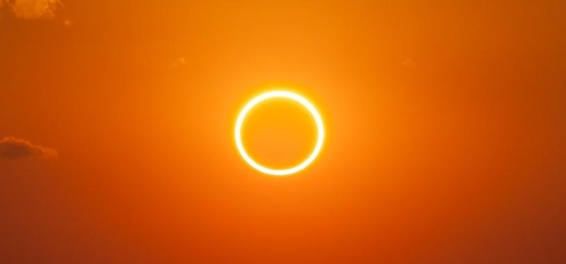 La NASA comparte un vídeo del último eclipse solar visto desde el espacio