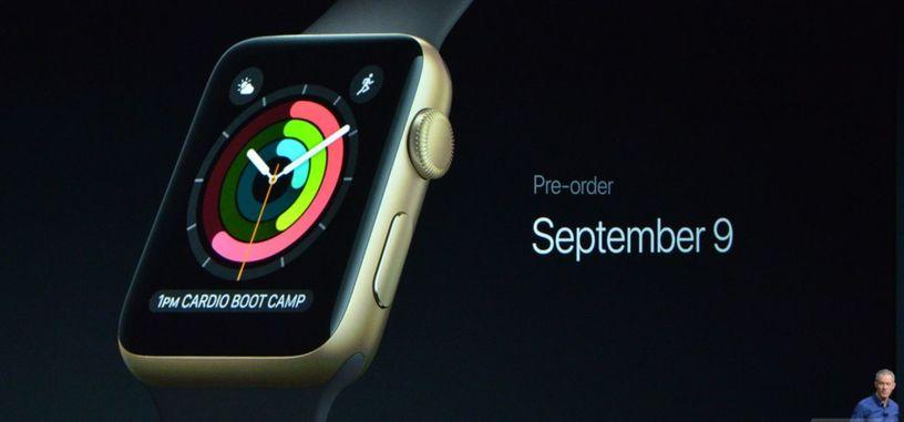 Apple Watch Serie 2, añade GPS, inmersión completa y un procesador más potente