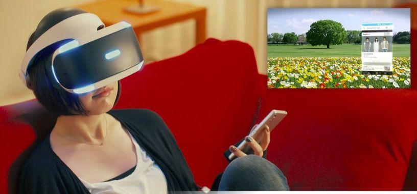 AnywhereVR te permitirá usar tu teléfono sin quitarte las PlayStation VR