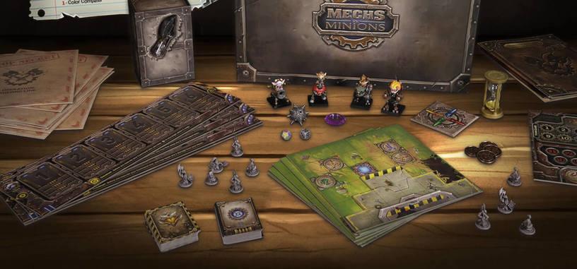 'Mechs vs. Minions' es el juego de tablero inspirado en League of Legends