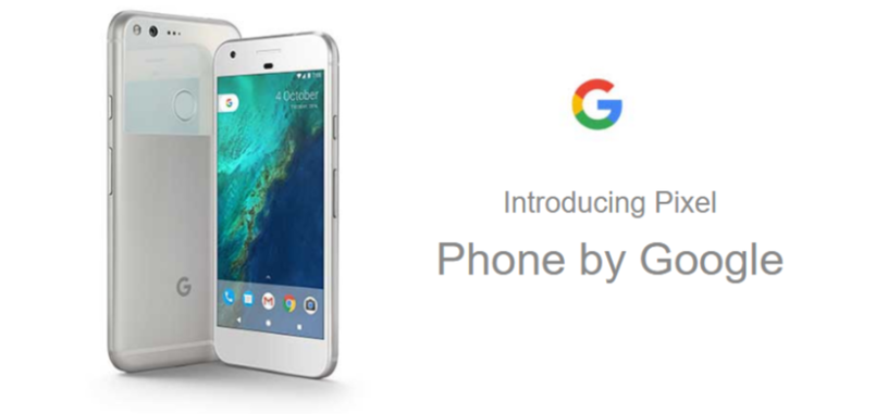 Una página web publica características e imágenes de los teléfonos Pixel de Google