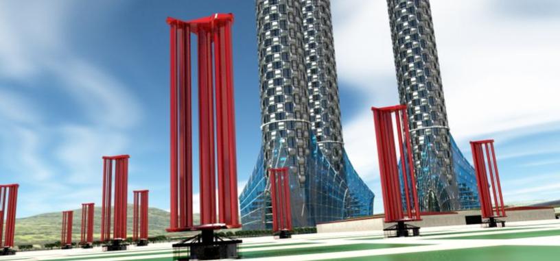 Unas nuevas turbinas son capaces de aprovechar la fuerza de los tifones para generar energía