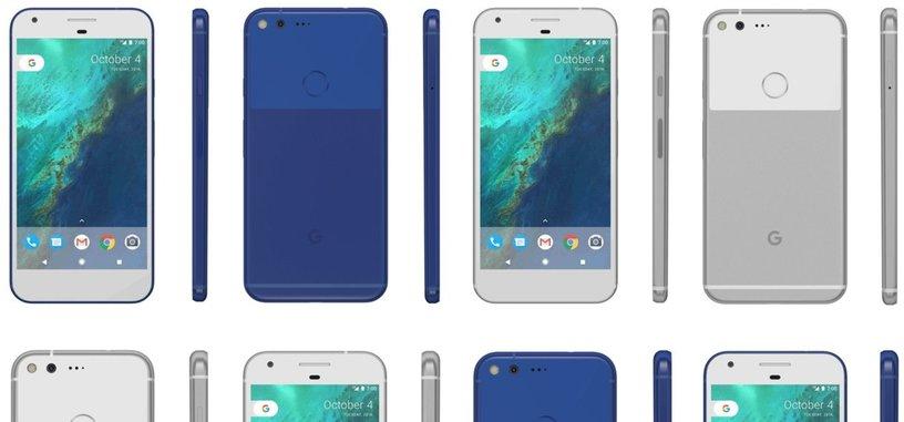 Nuevas imágenes de los teléfonos Pixel en azul y la aparición de 'Google Magic'
