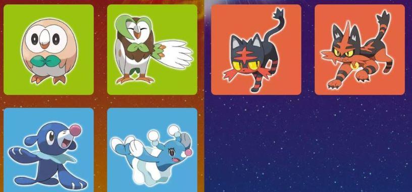 Nintendo pone fecha a la demo de Pokémon Sol y Luna y presenta evoluciones del trío inicial