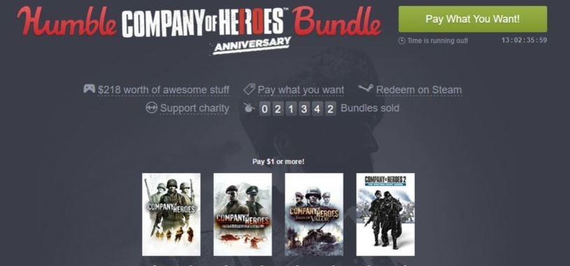 'Company of Heroes' celebra su décimo aniversario con un nuevo Humble Bundle
