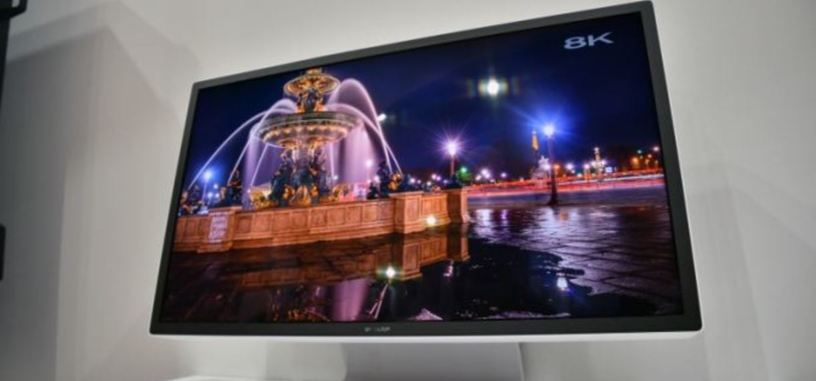 Sharp muestra un monitor IGZO de 27'' con resolución 8K y 120 Hz