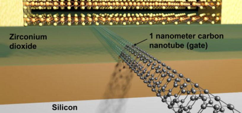 Logran fabricar un transistor de tan solo 1 nanómetro de longitud
