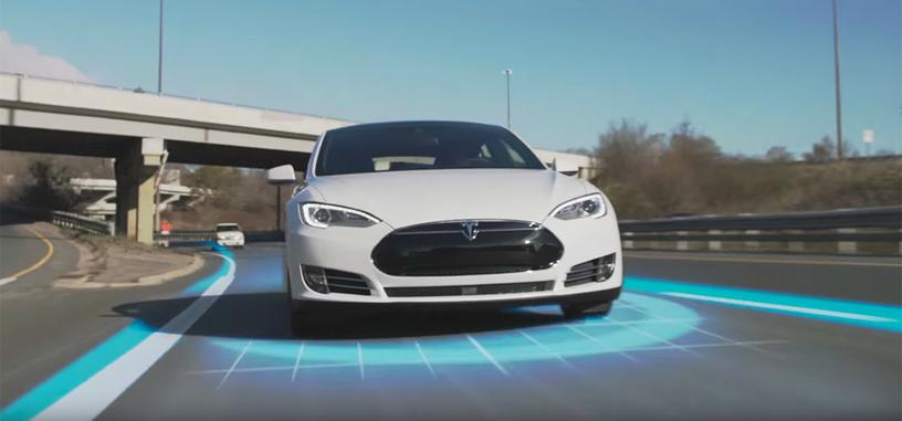 El piloto automático de los vehículos Tesla reduce los accidentes en un 40 %
