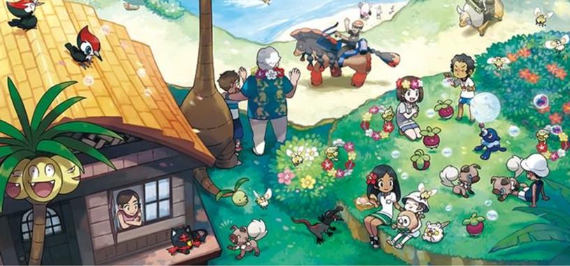Ármate de 'poké balls' y lánzate a la aventura porque ya está aquí 'Pokémon Sol y Luna'
