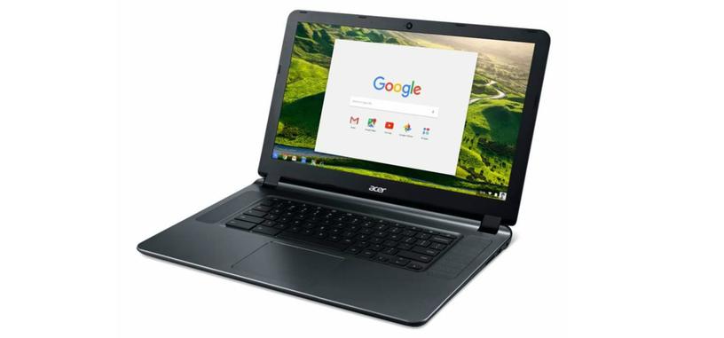 La nueva versión del Chromebook 15 de Acer ofrece más batería a un mejor precio