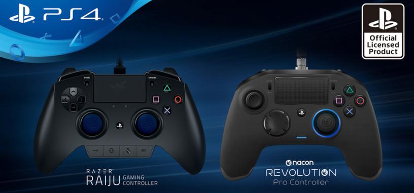 Sony da a conocer los nuevos mandos profesionales para PS4 fabricados por terceros