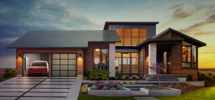 Solar Roof son las nuevas tejas solares de Tesla que parecen tejas normales