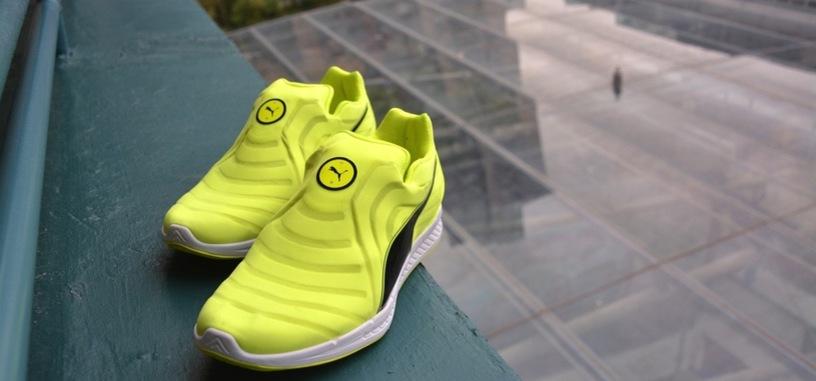 Puma también tiene unas zapatillas autoajustables, y están orientadas al atletismo