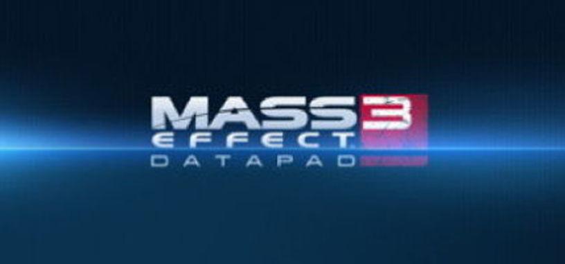 Mass Effect 3 Datapad, lleva el universo Mass Effect a tu movil