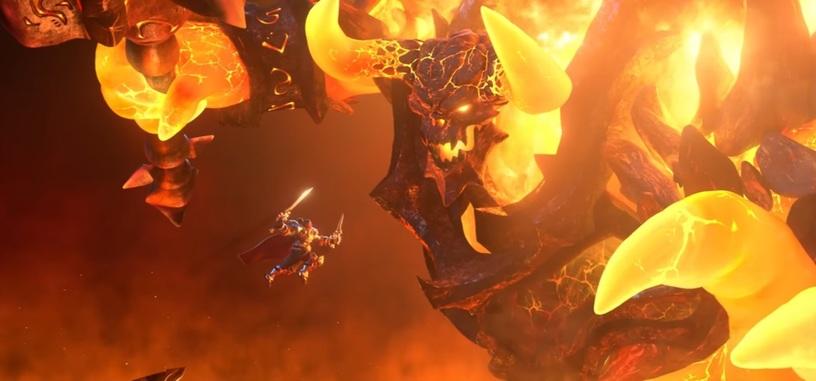 El rey Varian y Ragnaros llevan su lucha hasta la arena de 'Heroes of the Storm'