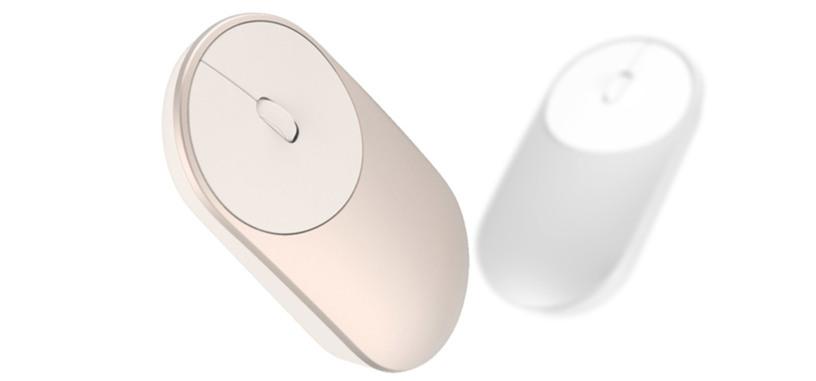 Xiaomi Mi Mouse, ratón Bluetooth barato con cuerpo de aluminio