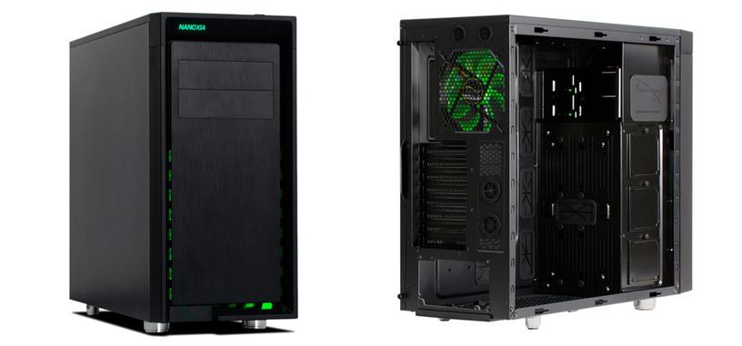Nanoxia CoolForce 2 Rev. B, caja orientada a la instalación de refrigeración líquida