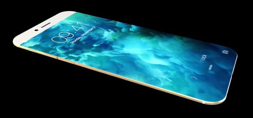 El iPhone 8 llegaría en modelos de 5 y 5.8 con pantalla de bordes redondeados y sin marcos