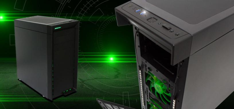 Nanoxia CoolForce 1, caja para refrigeración líquida con USB-C