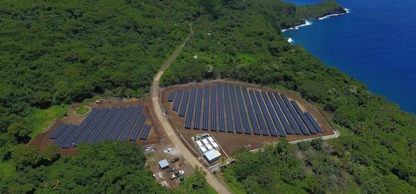 Tesla hace funcionar una isla únicamente con sus paneles solares y Powerpacks