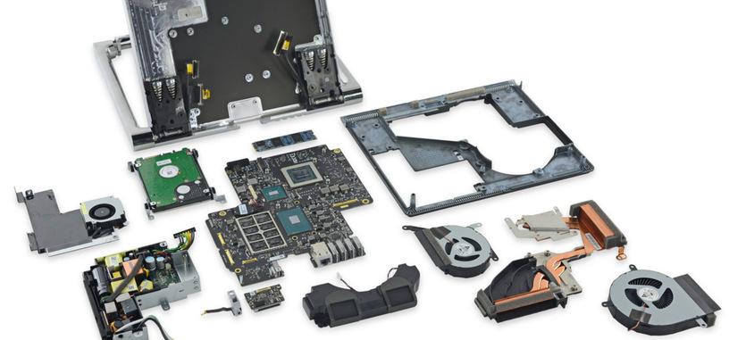 iFixit desmonta un Surface Studio, el almacenamiento es fácil de cambiar