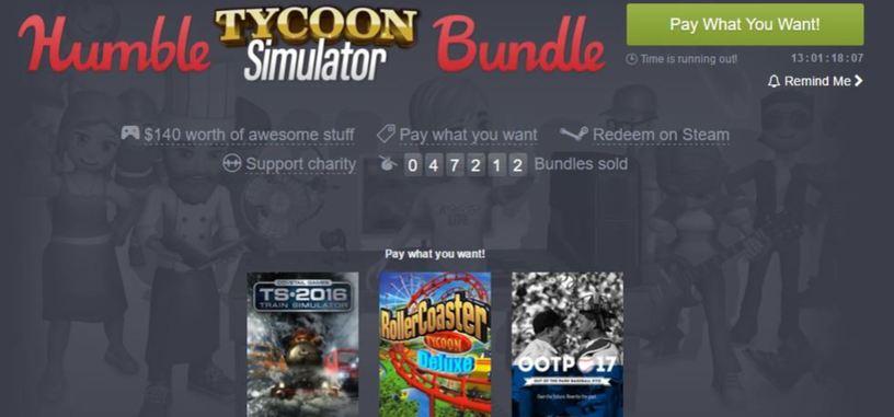 Toma el control con el 'Humble Tycoon Simulator Bundle'