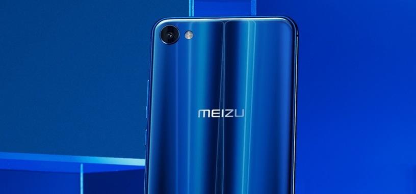 Meizu M3X, diseño en cristal con bordes redondeados, con un Helio P20